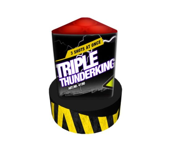 Triple Thunderking-flinkvuurwerk